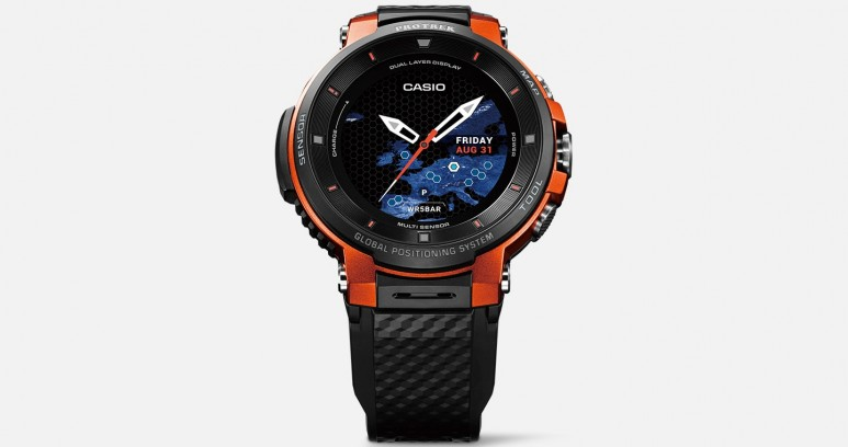 Smart Watch with an Analogue Look
