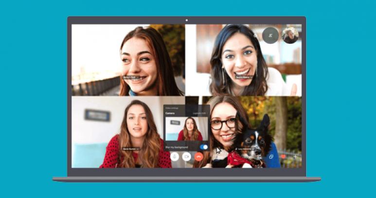 Skype da Bokeh modasına uydu