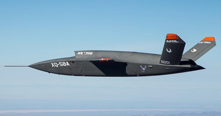 İnsansız Savaş Uçağı Valkyrie Göklerde